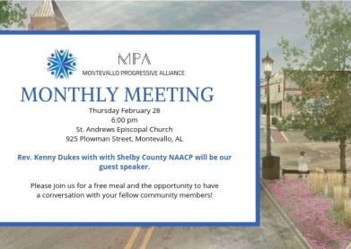 MPA February Meeting