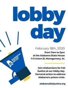 AFJ Lobby Day Flyer